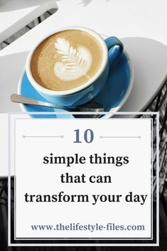 simple things to enjoy today slow living / simple living