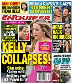 Kelly Preston Collapses Over Drug Use (Photo) Celebrity Gossip, Celebrity Photos, Celebrity News, National Enquirer, Kelly Preston, The Neighbor, Touching Stories, John Travolta