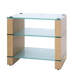 Solid Beech Hifi Rack Audio Shelf Satin Black A Wide Selection Of Colours And Designs Turntable Wall Shelf