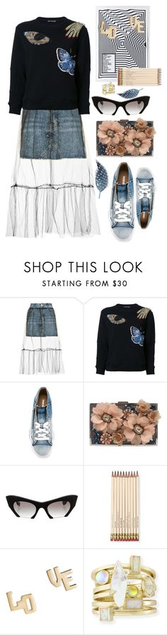 """""""Patches of my favorite memories"""" by marcusv ❤ liked on Polyvore featuring Topshop, Alexander McQueen, Diesel, Sondra Roberts, Miu Miu, Kate Spade and Jennifer Zeuner"""