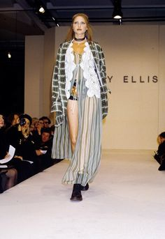 Perry Ellis Spring 1993 Collection, designed by Marc Jacobs.  This grunge inspired collection caused Jacobs to lose his job at Perry Ellis, but gained him fame.