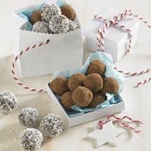Chocolate Rum and Raisin Balls - Gluten Free