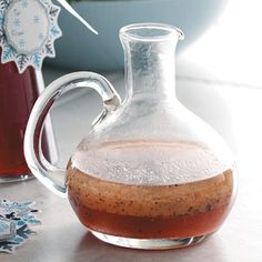 Cranberry Orange Vinaigrette Recipe - adapted a bit. This was sooo good.