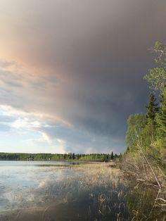 Lac La Biche fire day 1. Only a few hours later. a.a 2015