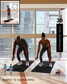 Full Body Hiit Workout, Hiit Workout At Home, Gym Workout Videos, Fat Burning Workout, At Home Workouts, Weight Workouts, Exercise Workouts, Week Workout, Exercise Equipment