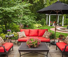 Rain and snow are going to play a huge part in your yard landscaping decisions. For example you will have to plan for your yard landscaping with care. These yard lan Backyard Patio, Backyard Landscaping, Landscaping Ideas, Patio Ideas, Flagstone Patio, Backyard Ideas, Azaleas Landscaping, Garden Ideas, Outdoor Rooms