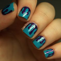 Cirque Colors Queen Majesty Nail Art