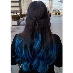 Blue Hair Highlights VIP Hairstyles