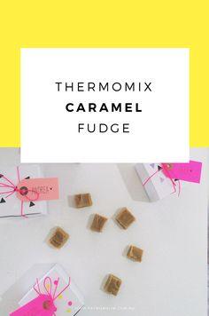 Thermomix caramel fudge