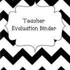 This download contains pages to assist you with organizing your teacher evaluation binder.  This is specific to Ohio teachers.  There are heading p...