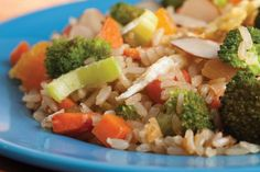 Stir-Fried Brown Rice and Vegetables | Recipes For Repair