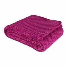 Zara home - Knit Double Moss-Stitch Throw