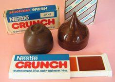 Vintage Avon Crunch Bar Lip Gloss set & Hersey's Kiss & Bon Bons #1980's