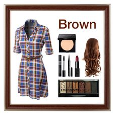 """brown"" by sweetangel29 ❤ liked on Polyvore featuring LE3NO, Bobbi Brown Cosmetics, Boohoo, Christian Dior, Marc Jacobs and NARS Cosmetics"