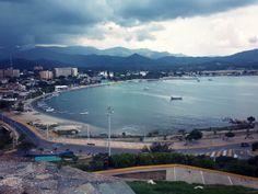 Bahía de Juan Griego, Margarita, Edo. Nueva Esparta (Venezuela)   Vista desde el Fortín de la Galera