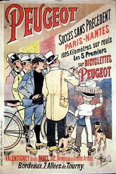 1892 ALBERT GUILLAUME CYCLES PEUGEOT