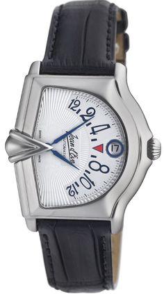 Jean Black Alligator-Leather Watch
