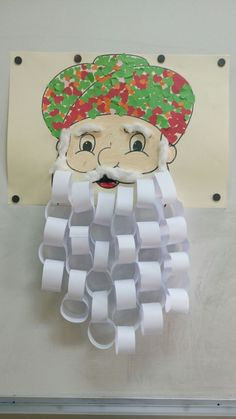Santa craft for facility door ~ Nasreddin hoca