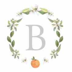A custom logo for our clients, @rwayland and Chad! Their wedding was last weekend in Orange, Virginia! 🍊 #ellopaper #customlogo #logo #stationery #weddingstationery ellopaper.com