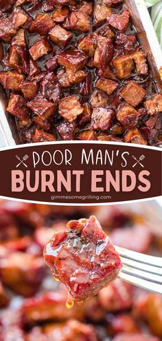 Learn how to make this Poor Man's Burnt Ends recipe on the smoker for the best Memorial Day food! Everyone will love these fall-apart tender, juicy slices of chuck roast. Fire up your Traeger and enjoy tender as an appetizer or main dish for Father's Day dinner, too! Easy Appetizer Recipes, Easy Dinner Recipes, Breakfast Recipes, Easy Family Meals, Easy Weeknight Meals, Summer Grilling Recipes, Summer Recipes, Slow Cooker Recipes, Beef Recipes