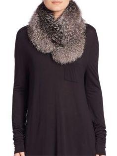 Moncler - Collo Fox Fur Collar