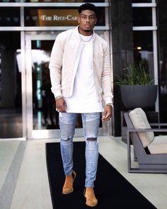 Mens Fashion - Fashion For Men Stylish Mens Outfits, Casual Outfits, Men Casual, Prom Outfits, Fashion Wear, Mens Fashion, Black Guy Fashion, Fashion Suits, Men Looks