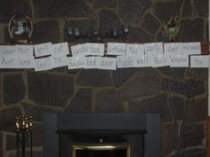 Word wall + fireplace = firewall?     Summer is a great time to build word walls together at home and help children build critical sight vocabulary. It's great insurance against Summer Reading Loss!