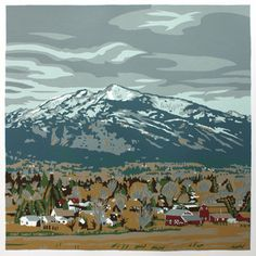 Bitterroot Valley Montana print by Jim Winters