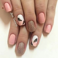 Pin by Kayla Gunn on Nails in 2019 Nail Art Design Gallery, Nail Art Designs, Toe Nails, Pink Nails, Cute Nail Art, Beautiful Nail Designs, Shellac, Nail Arts, Beauty Nails