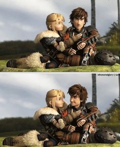Hiccup  Astrid, together!