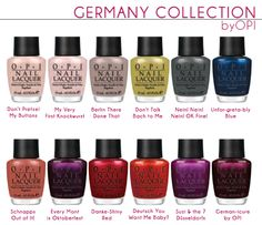Your favorite fall 2012 accessory? Fall 2012 - OPI Germany Collection #beauty #nails #manicures