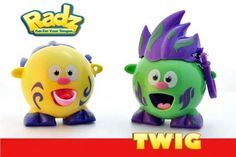 Radz twig is the outdoor adventurer of series one.  collect him and all his friends today!