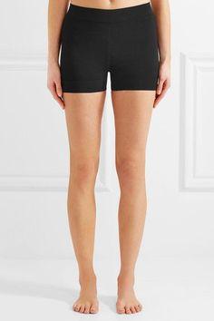 Alaïa   Stretch-knit shorts   NET-A-PORTER.COM