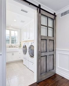 Door into 'master' bathroom