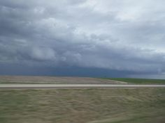 View from Russell Kansas  via #kswx