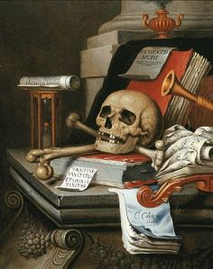 Edwaert Collier Memento Mori Art, Vanitas Paintings, Vanitas Vanitatum, Dance Of Death, Art Ancien, Still Life Flowers, Danse Macabre, Dutch Painters, Still Life Art