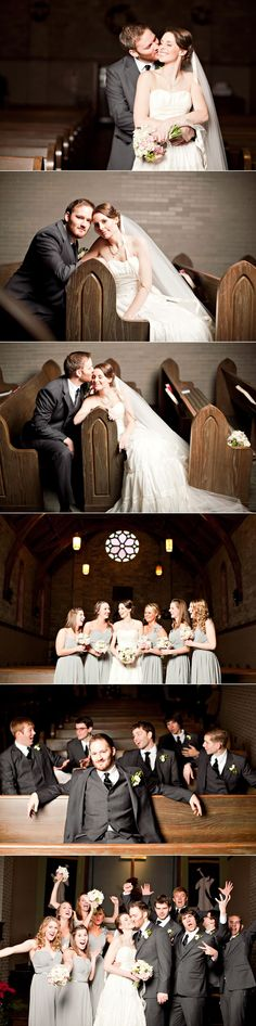 Perfect and unique wedding shots for a church! Love this | See more about church weddings, wedding pictures and wedding shot.