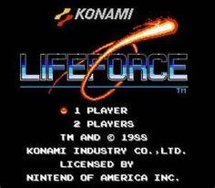 Lifeforce NES unos de mis favoritos!! #nes #nintendo #retro