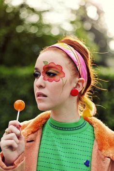 Flower petal eyes  A little bit hippie, a little bit crazy, a lot awesome. -Rookie