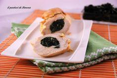 Petti di pollo ripieni di cavolo nero
