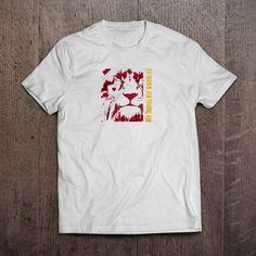 Beyaz Kumaş üzerine dijital Baskı Bir Duruş Bir Varoluş T-Shirt 29,99TL