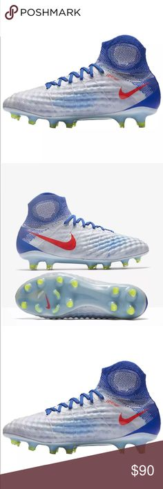 b5ea2c8cc346 NEW NIKE MAGISTA OBRA II FG ACC SOCCER CLEATS Brand New with tags - Women s  size