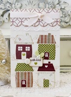 With Love Card by Melissa Phillips for Papertrey Ink (November 2013)