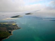 I lost my travel virginity to Auckland, and it was magical ;) This is the sight upon entry.