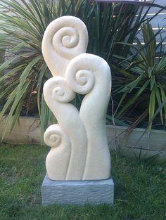 Sculptures - Helen's limestone sculptures