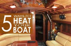 5 Ways to Heat Your Boat