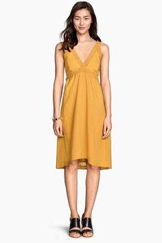 Vestido sin mangas en algodón | H&M