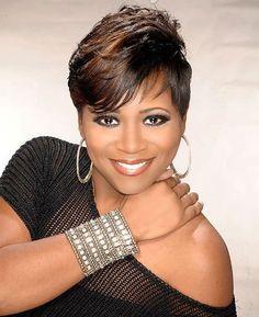 Swell Black Hair Hair Pictures And Black Hair Weaves On Pinterest Short Hairstyles For Black Women Fulllsitofus