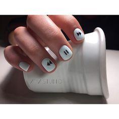 Nail art Christmas - the festive spirit on the nails. Over 70 creative ideas and tutorials - My Nails Diy Nails, Swag Nails, Cute Nails, Best Acrylic Nails, Acrylic Nail Designs, Stylish Nails, Trendy Nails, Nagellack Design, Nail Art Designs Videos