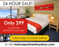 Metro Apartments on Darling Harbour: 24 Hour Sale